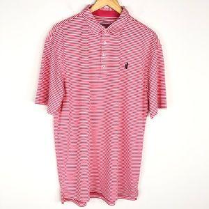 Johnnie-O Prep-Formance Striped Polo Shirt